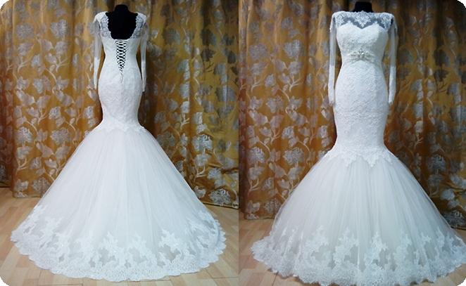Пошив свадебных платьев, Пошив свадебного платья на заказ, пошив